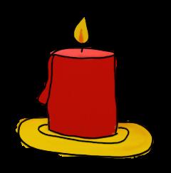Kerze-klein